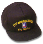 173rd Airborne Brigade Military Ball Caps