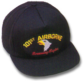 101st Airborne Military Ball Caps