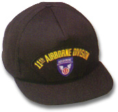 11th Airborne Division Military Ball Caps