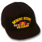 Desert Storm Veteran Military Ball Caps