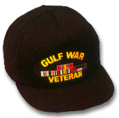 Gulf War Veteran Military Ball Caps