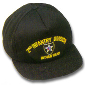 2nd Infantry Division Military Ball Caps