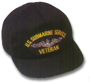 US Submarine Veteran Military Ball Caps