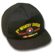 9th Infantry Division Vietnam Veteran Military Ball Caps