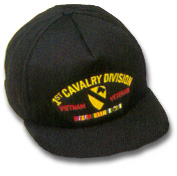 1st Cavalry Division Vietnam Veteran Military Ball Caps