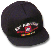 82nd Airborne Vietnam Veteran Military Ball Caps