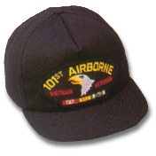 101st Airborne Vietnam Veteran Military Ball Caps