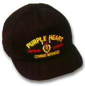 Purple Heart Vietnam War Military Ball Caps