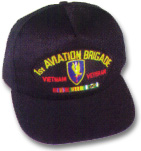 1st Aviation Brigade Vietnam Veteran Military Ball Caps