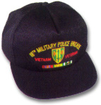 18th Military Police Brigade Vietnam Veteran Military Ball Caps