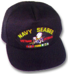 US Navy Seabess Vietnam Veteran Military Ball Caps