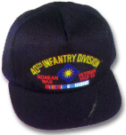 40th Infantry Division Korea Veteran Military Ball Caps