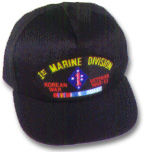 1st Marine Division Korea Veteran Military Ball Caps