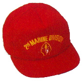 2nd Marine Division Military Ball Caps