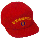 6th Marine Division Military Ball Caps