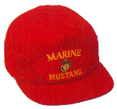 Marine Mustang Military Ball Caps