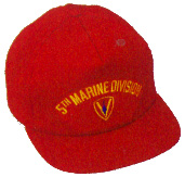 5th Marine Division Military Ball Caps