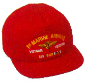 1st Marine Airwing Vietnam Veteran Military Ball Caps