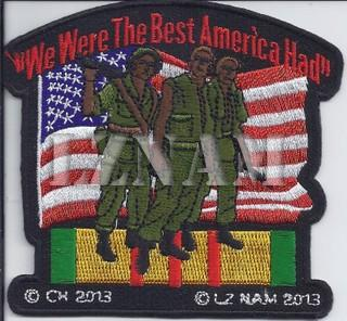 We Were The Best America Had/patches