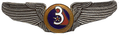 3rd Air Force Air Corps Wings