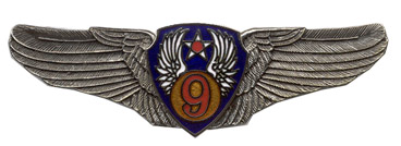 9th Air Force Air Corps Wings