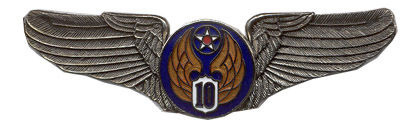 10th Air Force Air Corps Wings