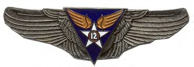 12th Air Force Air Corps Wings