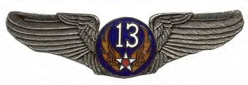 13th Air Force Air Corps Wings