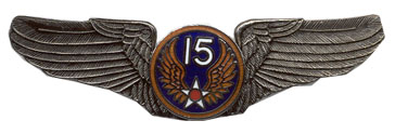 15th Air Force Air Corps Wings