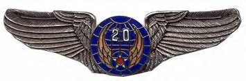 20th Air Force Air Corps Wings