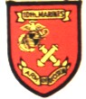 10th Marine Regiment Patches