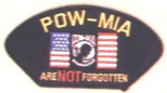 POW/MIA Patches