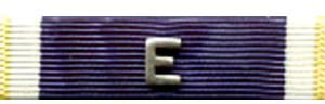 Navy E Ribbons