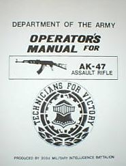 Operations Manual AK-47 Rifle Military Manuals