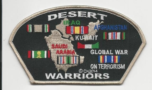 Desert Warriors Patches