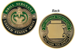 Drill Sergeant Army Challenge Coins