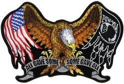 All Gave Some Some Gave All Back Patch