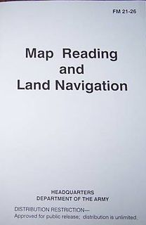 Map Reading & Land Navigation Military Manuals