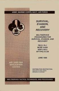 Survival, Evasion & Recovery Military Manuals