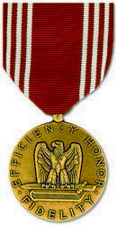 Army Good Conduct Full Size Medal