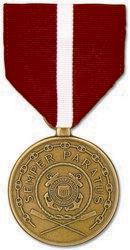 Coast Guard Good Conduct Full Size Medal
