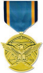 Air Force Aerial Achievement Anodized Full Size Medal