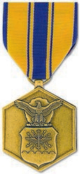 Air Force Commendation Anodized Full Size Medal