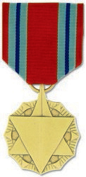 Air Force Combat Readiness Anodized Full Size Medal