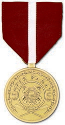 Coast Guard Good Conduct Anodized Full Size Medal
