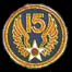 15th Air Force Hat Pins
