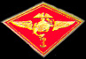"1st Marine Air Wing 1 1/8"" Marine Hat Pins"