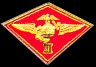 "3rd Marine Air Wing 1 1/8"" Marine Hat Pins"