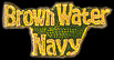 Brown Water Navy Hat Pins