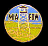 POW/MIA Tower Hat Pins